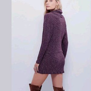Free People Dresses Turtleneck Sweater Dress Poshmark